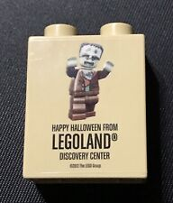 LEGO Happy Halloween from Legoland Discovery Center Exclusive Brick TAN