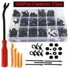 435pcs Car Body Trim Clips Retainer Bumper Rivet Screw Panel Push Fastener Kits
