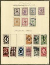 More details for new zealand: railway charges - ex-old time collection - album page (42647)
