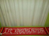 """1.FC Kaiserslautern Fan Schal """"DIE ROTEN TEUFEL VOM BETZENBERG"""" + """"Erfolge"""" TOP"""