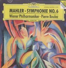 MAHLER Symphonie No.6 A-Moll CD Germany Deutsche Grammophon 1995 4 Track With