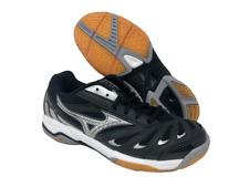 Mizuno Women's Wave Rally 5 Volleyball Shoe, Black/Silver, 6 B(M) US