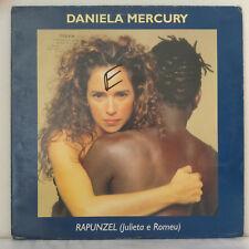 "Daniela Mercury – Rapunzel - Vinyl, 12"", 33 ⅓ RPM, Maxi-Single - France 1998"