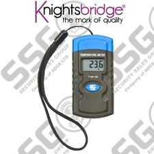 Digital Mini Temperature Meter Probe With Strap - Accurate, Datahold Function