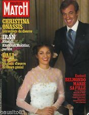 Couverture magazine,Coverage Paris Match Jean Paul Belmondo & sa Fille