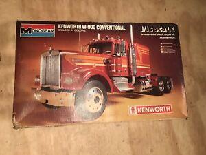 Monogram kenworth w-900 conventional  Truck Model  Open Box