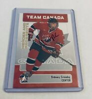 B5,709 - 2006-07 ITG Heroes and Prospects #147 Sidney Crosby Rookie Penguins