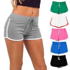 Women's Summer Casual Shorts Running Sports Short Pants Beach Yoga Hot Pants PT