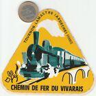 AUTOCOLLANTS . Automobile. CHEMIN de FER du VIVARAIS.  - Vintage - Oldies