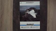Catalogue DASSAULT - Rafale