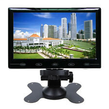 9'' Ultra Thin 1024*600 TFT LCD Color Audio Video HDMI VGA Car Rear View Monitor