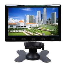 9'' Ultra Thin 1024*600 TFT LCD Color Audio Video HDMI VGA Car Rear View Monitor