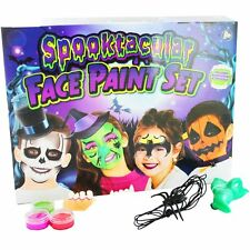 Grafix Spooktacular Face Paint Set Childrens Halloween Accessories Kit R65 0379