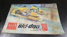 1969 Ski Doo Olympic Owner's Manual Snowmobile