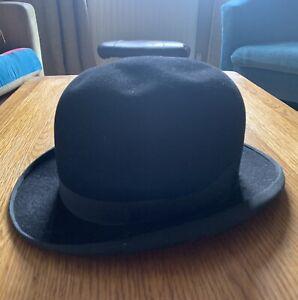 1940s Vintage Bowler Hat