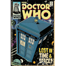 Doctor Who Poster Tardis   OFFICIAL