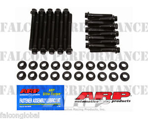 Ford 5.0 302 Using 351W Heads ARP RACE Cylinder Head Bolt Kit w/Insert Washers