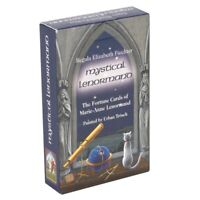 New 36 Mystical Lenormand Oracle Cards Deck Tarot Kit Fantasy Set With Guidebook