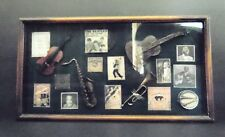 Music, Memobilia: One Of A Kind Vintage In Wall or on Wall Mounting, Awesome!