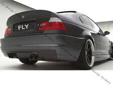 für BMW E46 M3 CSL Cabrio Coupe Carbon Extremtuning Heckdiffusor Schürze Aerodyn