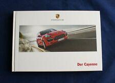 Porsche Der Cayenne - Hardcover Buch - Prospekt - Broschüre - Katalog