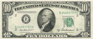 1950-B NEW YORK FEDERAL RESERVE NOTE - GEM CRISP UNCIRCULATED