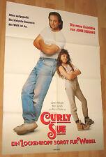 Curly Sue – Ein Lockenkopf sorgt für Wirbel Filmplakat / Poster A1 60x84cm