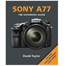 Sony SLT-A77 by David Taylor Paperback Book (English)
