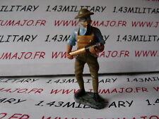 SOLDAT plomb HACHETTE 1/32 : WW1 guerre 14/18 n°22 Artilleur Anglais 1917
