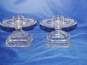 Crystal Tradition Candlestick Pair