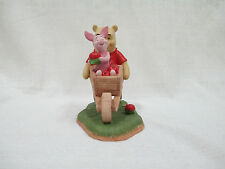 Walt Disney Winnie the Pooh Collecting Friends Along the Way Pooh & Piglet