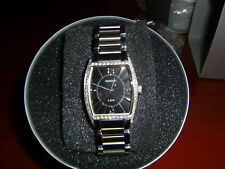Ladies Tourneau S/S Polished Quartz Bracelet Watch, Model A4277W/B-B