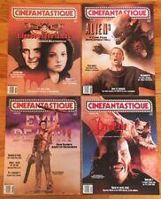 CINEFANTASTIQUE Magazine 1992 Lot: Alien, Evil Dead, Silence of Lambs, Dracula