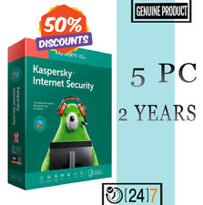 Kaspersky Internet Security Antivirus 2020 - 5 PC 2 YEAR For Windows GLOBAL