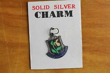 VINTAGE PRINCE EDWARD ISLAND ENAMEL CHARM Sterling Silver 925 GREAT ONE-S8244