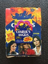 (1) Fresh from Box 1977 Topps Charlie's Angels Series 2 Unopened Wax Pack Mint!