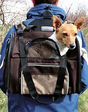 OFFERTA 28871 TRIXIE Zaino Shiva & borsa per trasportare un piccolo cane/gatto