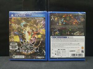 (ASIA ENGLISH VERSION) PSV PS Vita Muramasa Rebirth (Brand New)