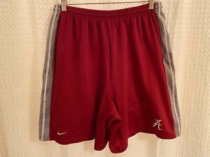 Vintage Nike Team NCAA Alabama Crimson Tide Basketball Shorts Men's Size Medium