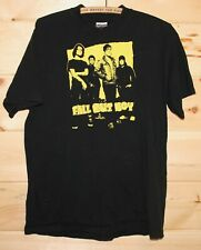 Fall Out Boy Mens Size L Concert T-Shirt Black & Yellow Rock Adult FOB +