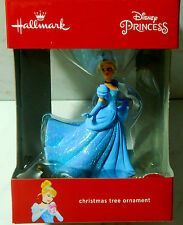 Disney Princess 2016 Hallmark Christmas Tree Ornament New in Sealed Box