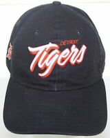 Detroit Tigers New Era 9Twenty Hat MLB Baseball Buckle Strapback Cap - Dark Blue