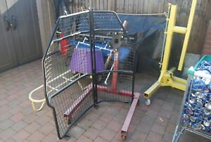 ford transit connect bulkhead cage high roof