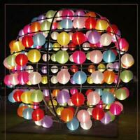 LED Solar Light Chinese Lantern Festival Party Hanging Lamp Waterproof