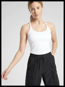 Athleta NWT Women's Renew Support Top Size Small Color White
