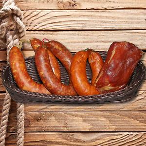 Probierpaket Rohwurst - Schinkenspeck, Kümmelwurst, Krautwurst, Knoblauchwurst