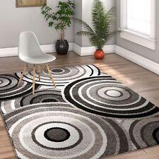 Rugs Area Rugs 8x10 Rug Carpets Floor Big Modern Large Grey Black White 5x7 Rugs