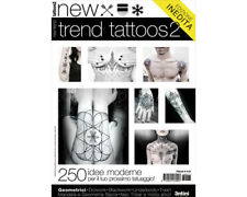New Tattoo Trends Reference Book 64-pages Color Black White Photo Design Art