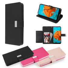 For Samsung Galaxy A11 Cards Holder Leather Wallet Flip Phone Case Cover Pouch