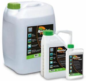 Roundup Flex 480 Liquid Weed killer 1L 5L 15L